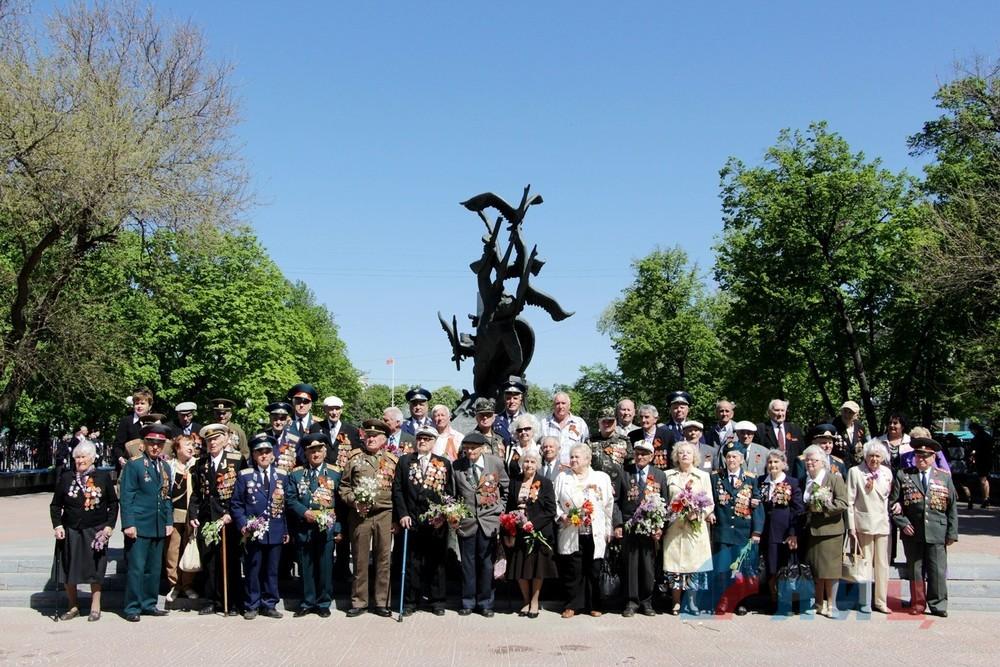 """Митинг 5 мая в Луганске. Фото """"Луганский информационный центр"""""""