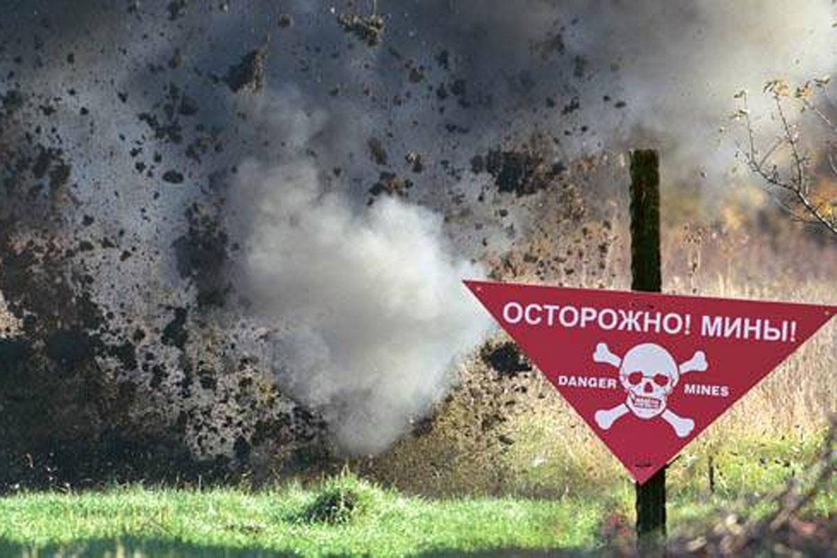 Взрыв под Донецком: пострадал мирный житель