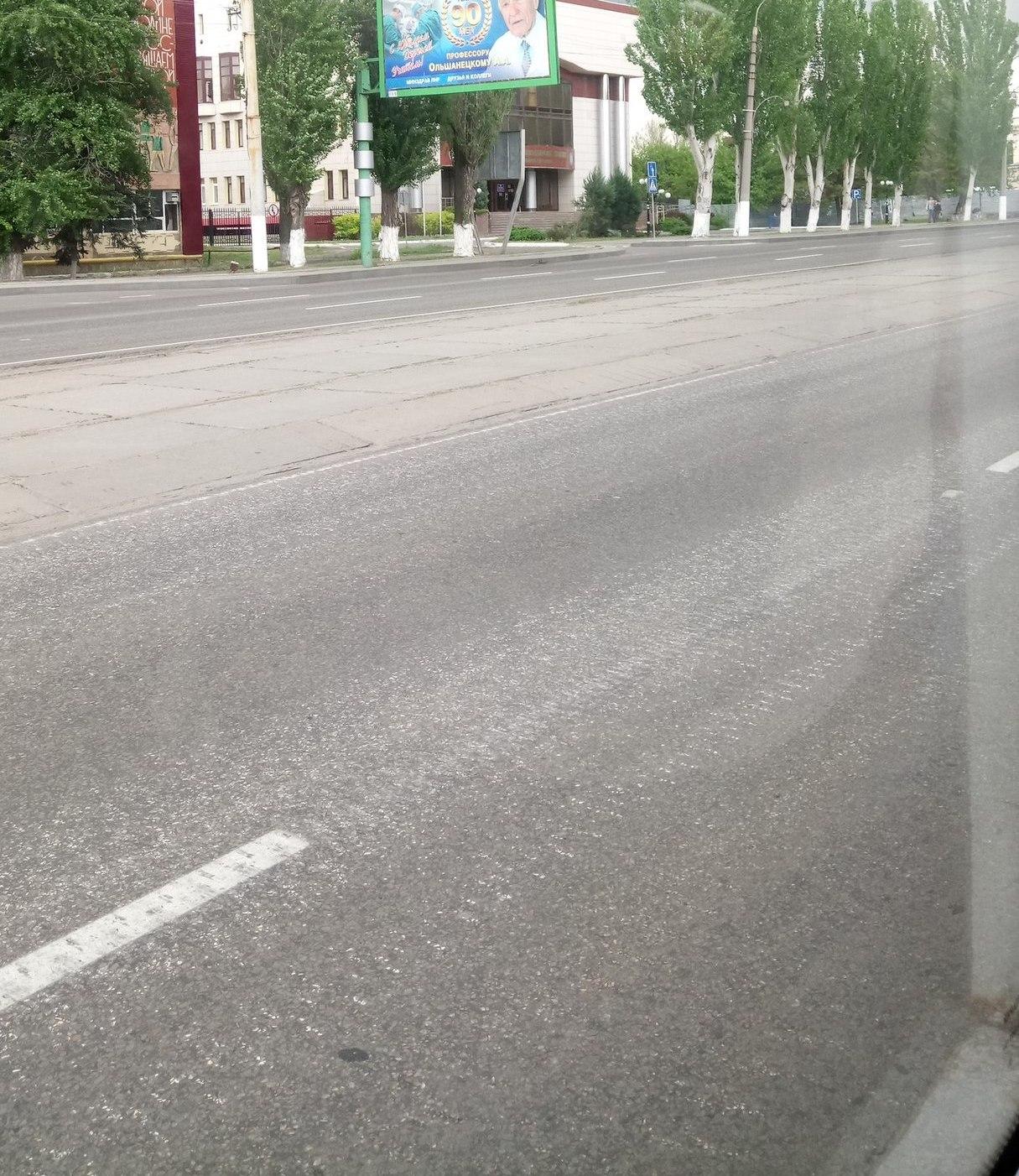 В «ЛНР» отрапортовали о завершении ремонта дорог