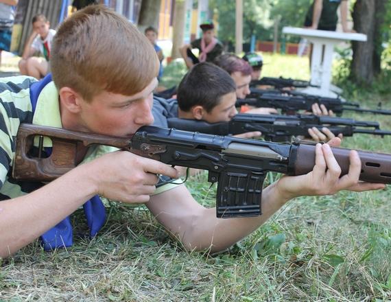 В прошлом году «МГБ» тренировало детей в лагере «Лесные просторы»