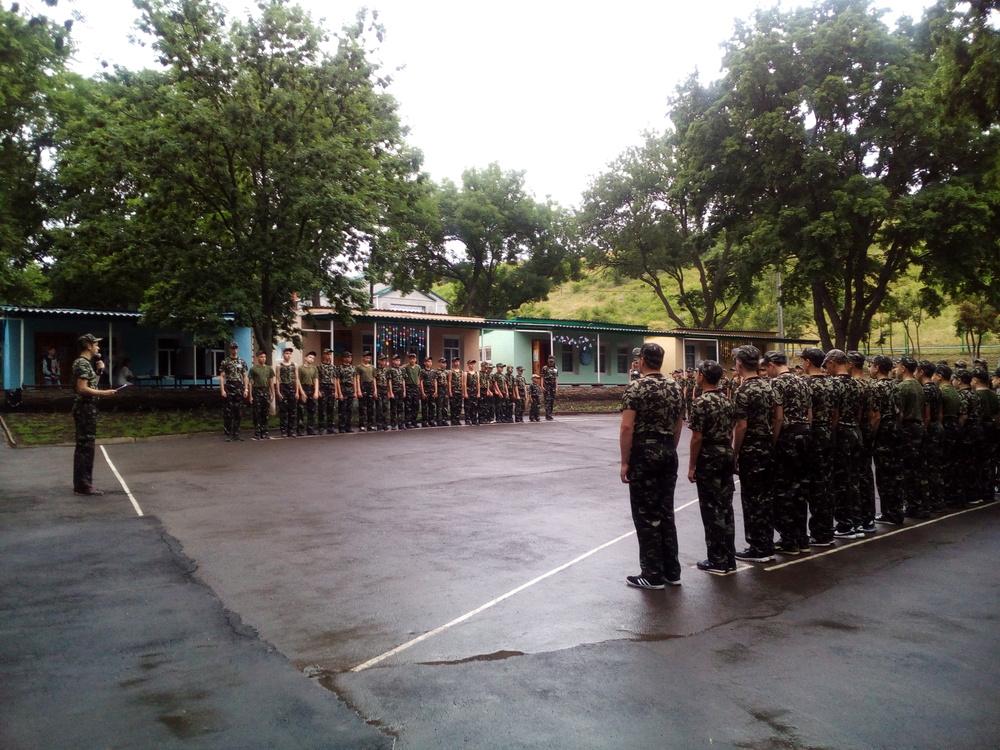 Лагерь Зарница, отжатый у ДТЭК Ровенькиантрацит, работает по военному профилю