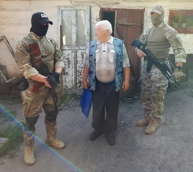 В районе АТО задержан информатор террористов