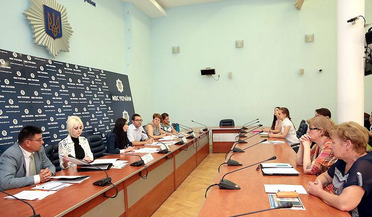 Фото – департамент коммуникации МВД Украины