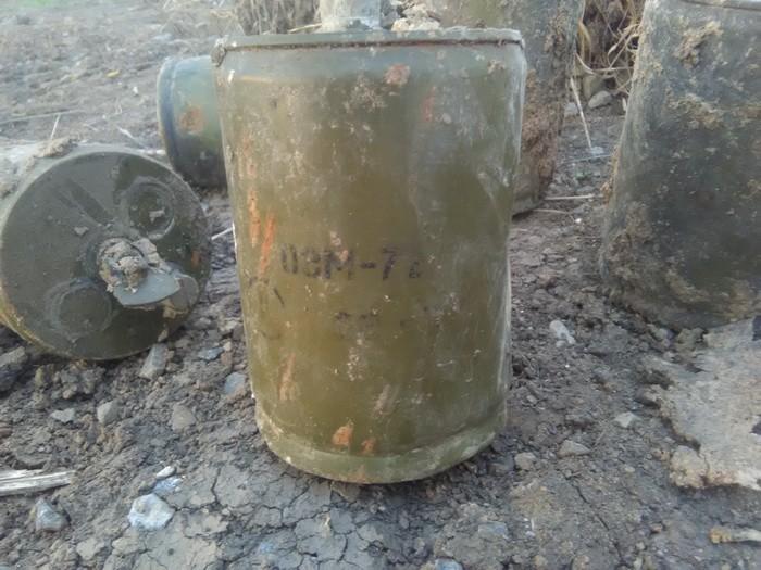СБУ обнаружила в районе АТО мины-лягушки и снаряды