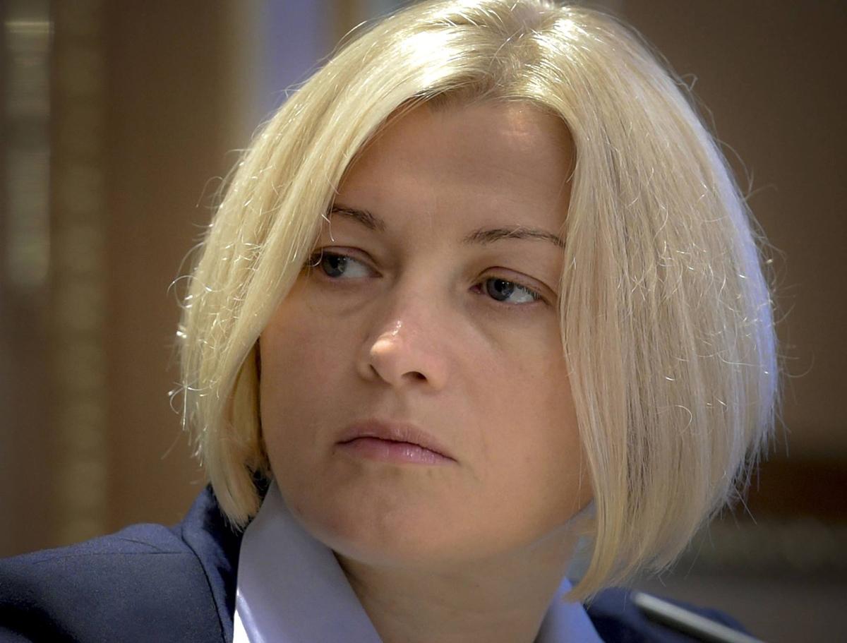 Ирина Геращенко, первый заместитель главы Верховной рады