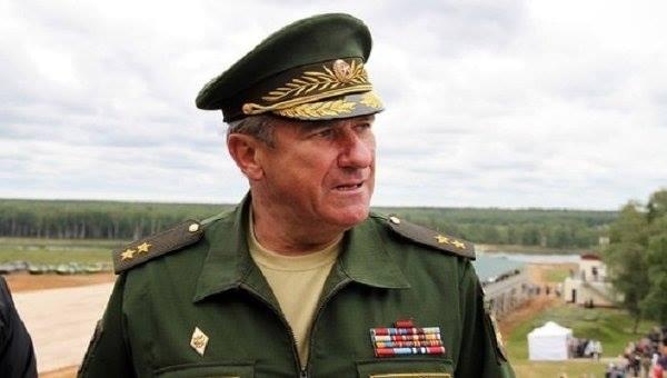 Генерал-полковник Ленцов. По данным СБУ он координирует действия 1-й и 2-й армейских корпусов РФ.