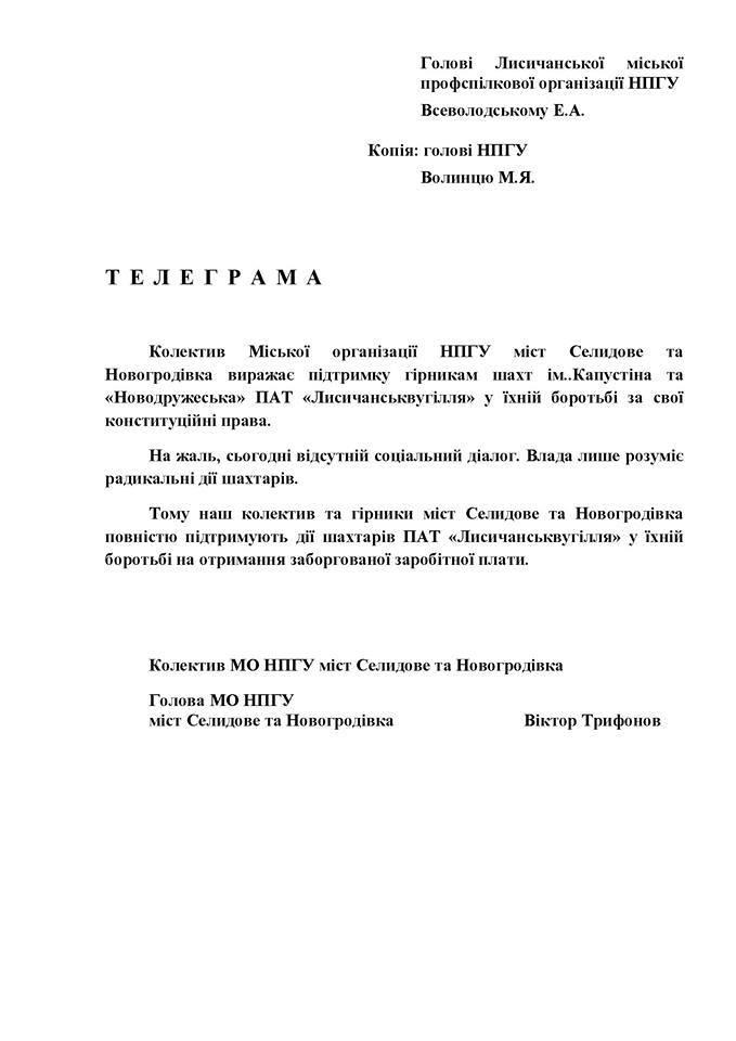 НПГУ Селидовуголь