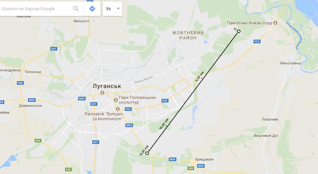 Схрон «украинских диверсантов» снимали в 13 км от места, где его якобы нашли