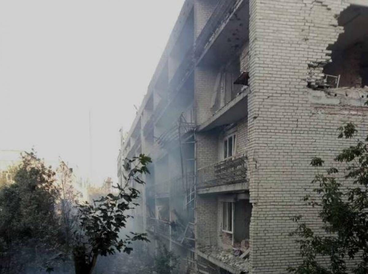 Фото пресс-службы Главного Управления Госслужбы по чрезвычайным ситуациям в Донецкой области