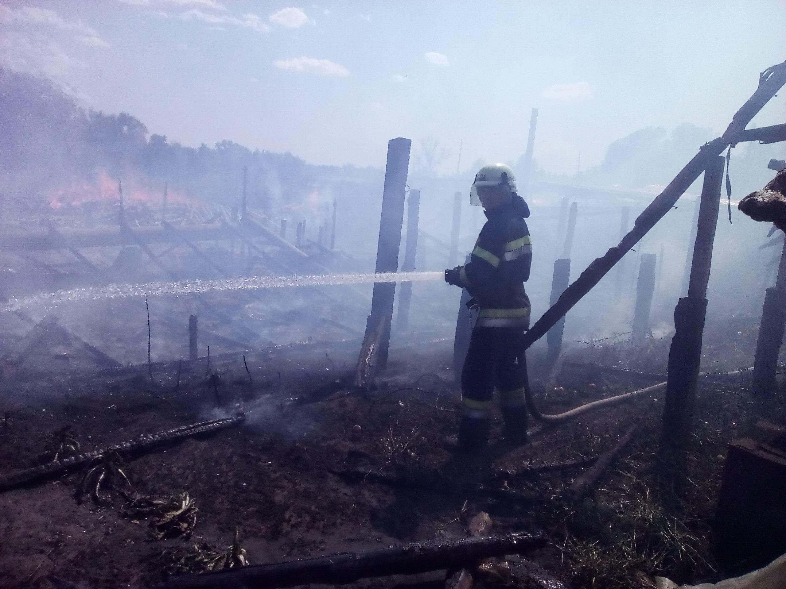 Фото пресс-службы Главного Управления Госслужбы по чрезвычайным ситуациям в Луганской области