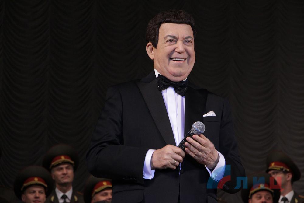 Кобзон дал концерт в Луганске честь своего юбилея