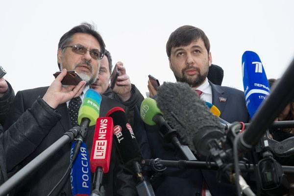 Представители «ЛНР» и «ДНР» ответил на заявление Волкера