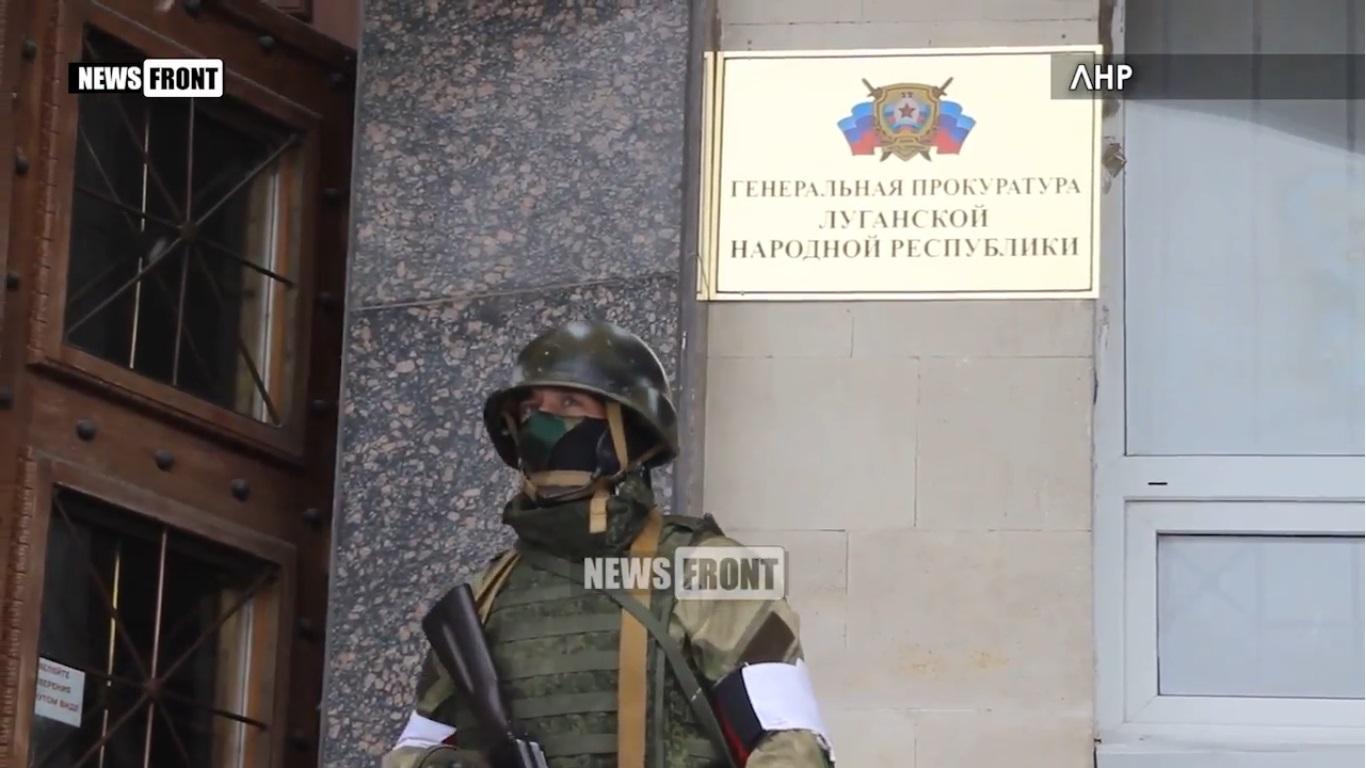 Центр Луганска оцепил «Беркут» — Корнет наносит ответный удар (ВИДЕО, ОБНОВЛЯЕТСЯ)