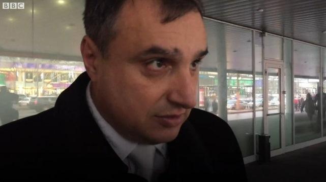 Арсен Клинчаев и радикальное движение SERB в Москве сорвали показ фильма про бойцов «Айдара»