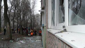 В «ЛНР» показали последствия обстрела Стаханова-Кадиевки