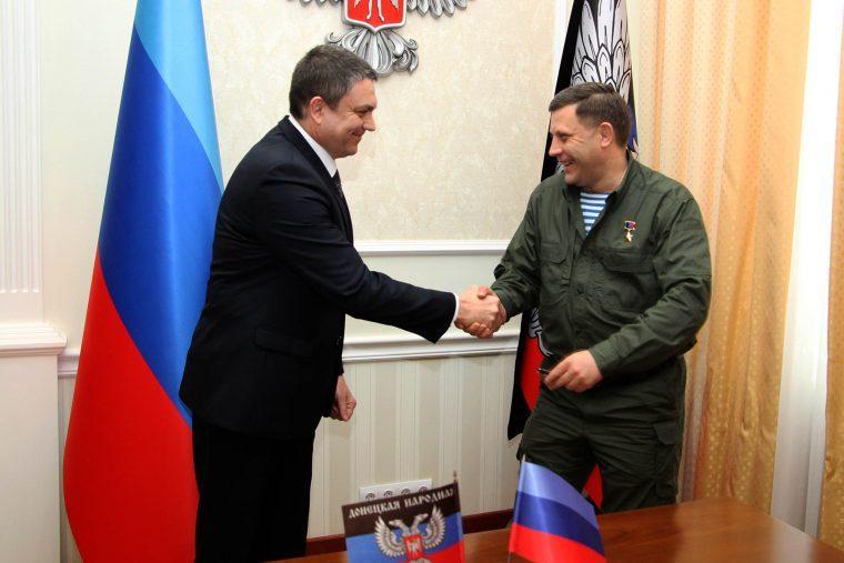 Пасечник и Захарченко намерены создать «единое таможенное пространство»