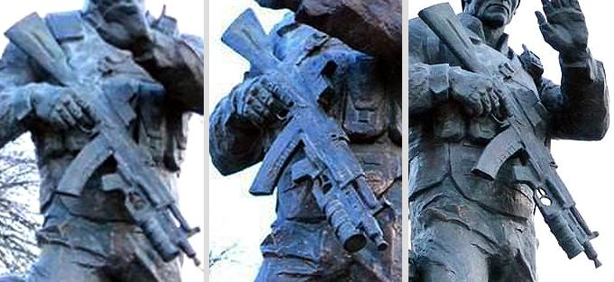 Путинский «военторг» увековечили в памятнике «российскому добровольцу»