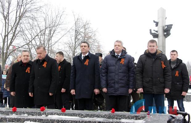В Луганске отмечают день освобождения города