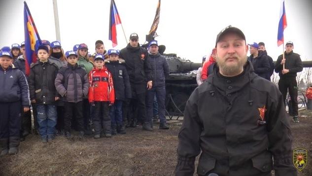Молодежная организация с оккупированной территории агитирует за Путина