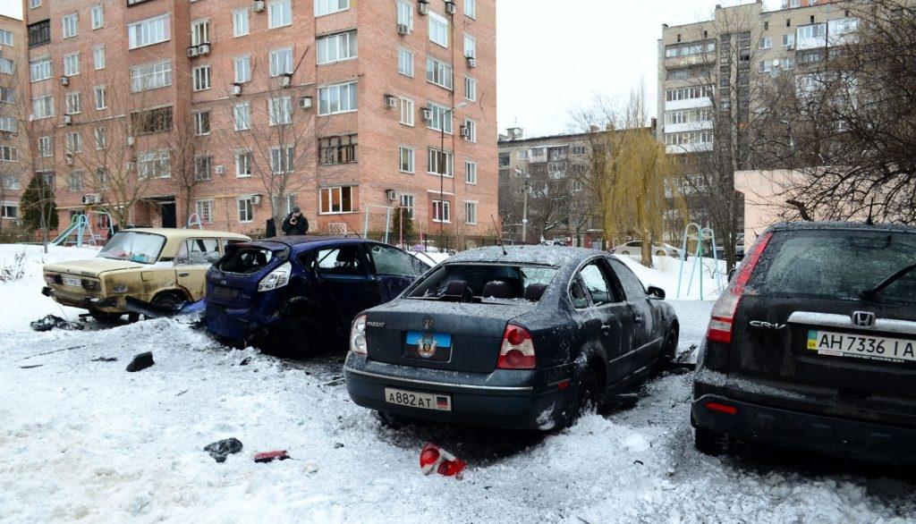 В оккупированном Донецке взорвали авто