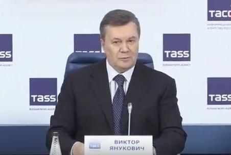 «Я ваши деньги не считаю, не считайте и мои», — Янукович