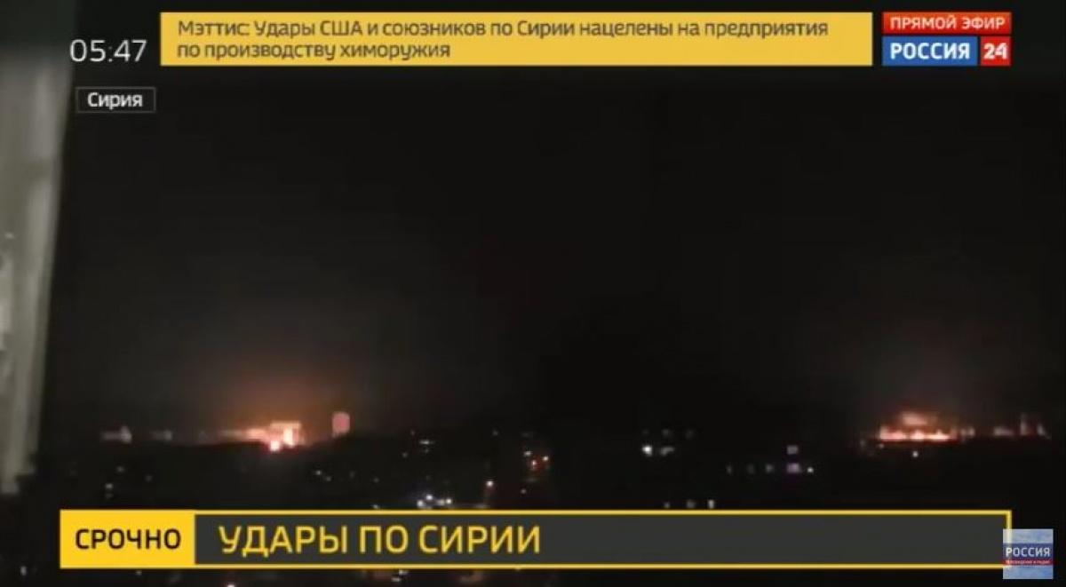 «Россия 24» показала обстрел Луганска и выдала его за удар по Сирии