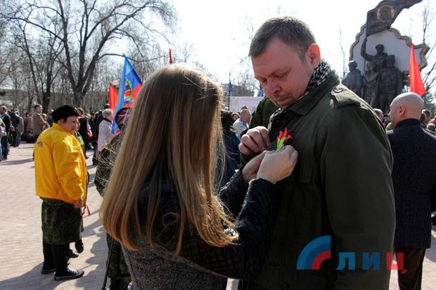 В «ЛНР» отметили четвертую годовщину «взятия» СБУ