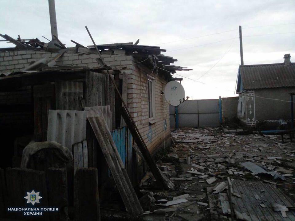 Обстрел Троицкого: два человека погибли и два ранены
