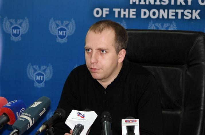 В Донецке задержали бывшего «министра» транспорта