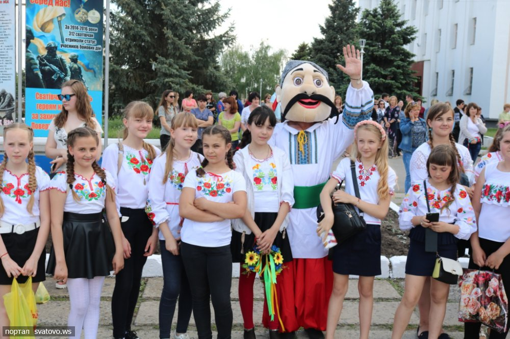 Как на Луганщине отметили День вышиванки