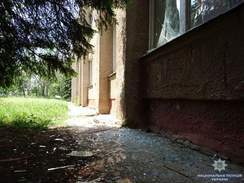 В Светлогорске под обстрел попала школа
