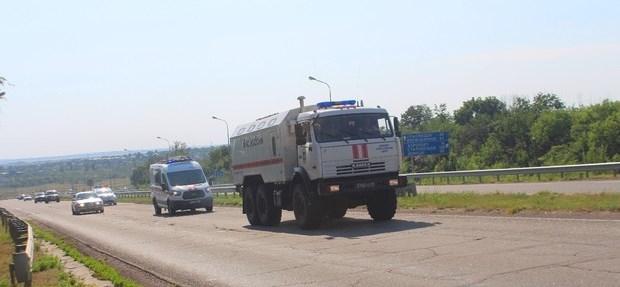 В Луганск привезли российский «гумконвой»