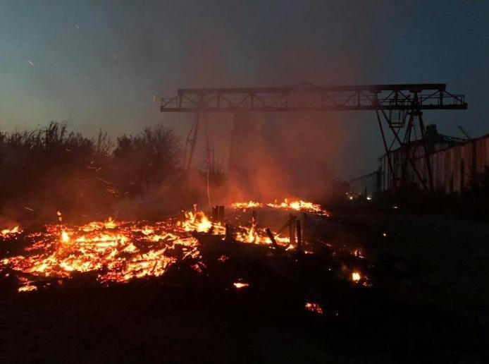 В оккупированном Донецке горела шахта «Куйбышевская»