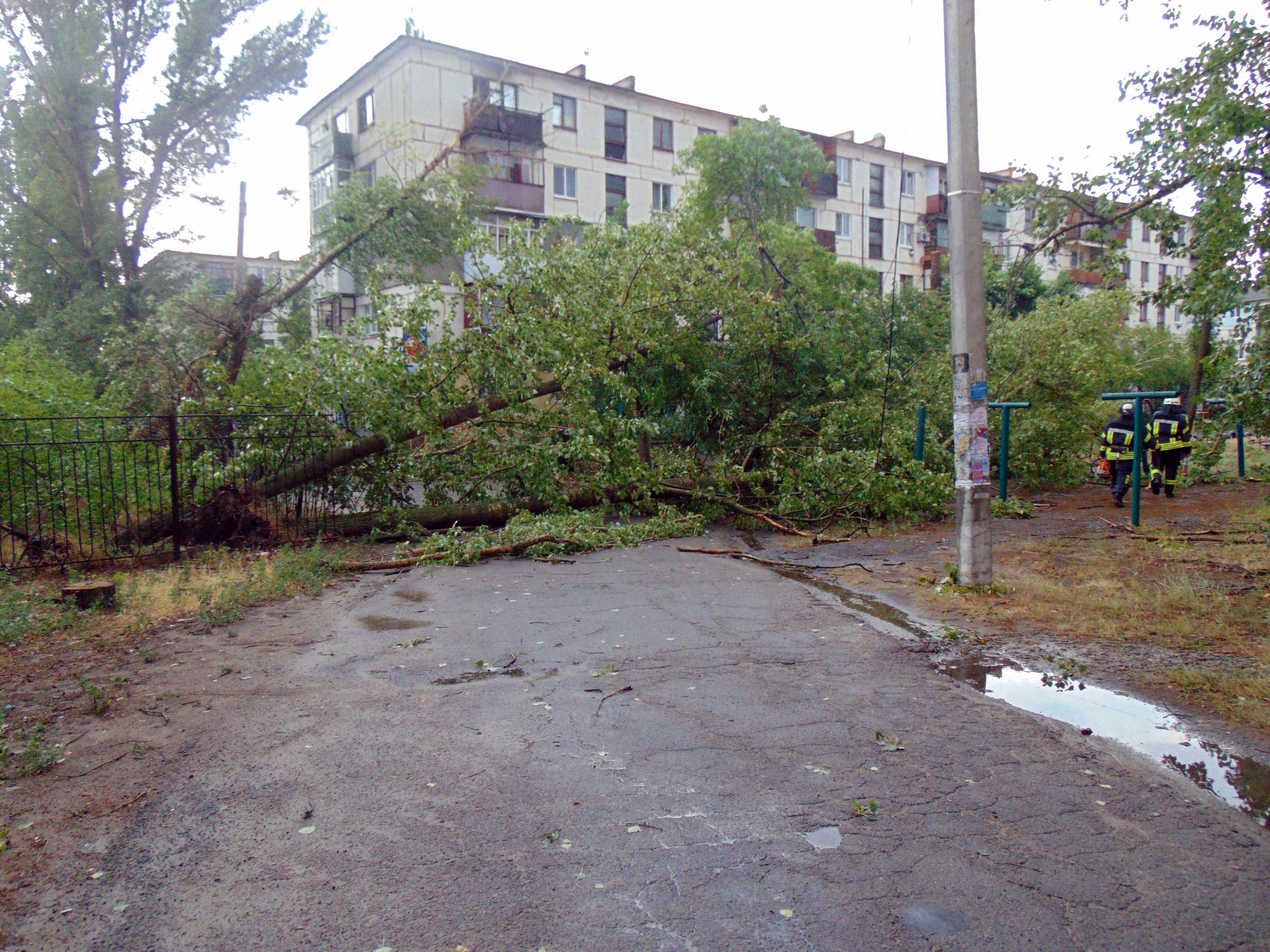 Из-за непогоды часть Луганской области осталась без света