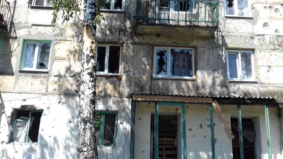На Луганщине обстрелян поселок Новотошковское