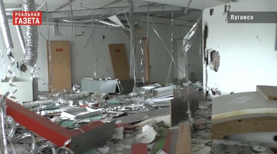 Заброшенные здания в Луганске. Опасные «сокровища» (ВИДЕО)