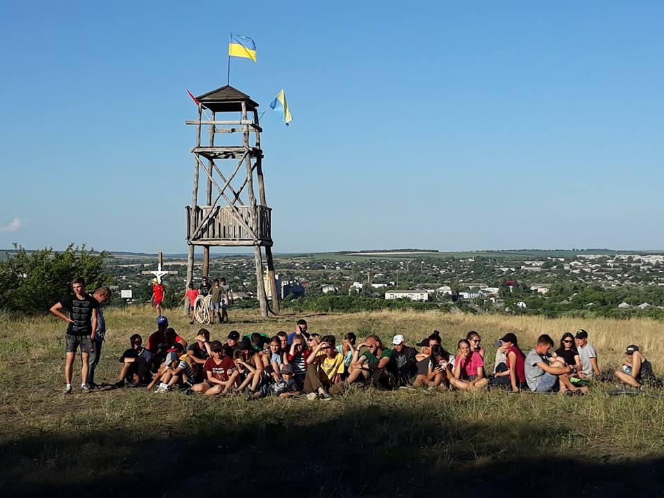 В Луганскую область приехала «Трухановская Сечь»