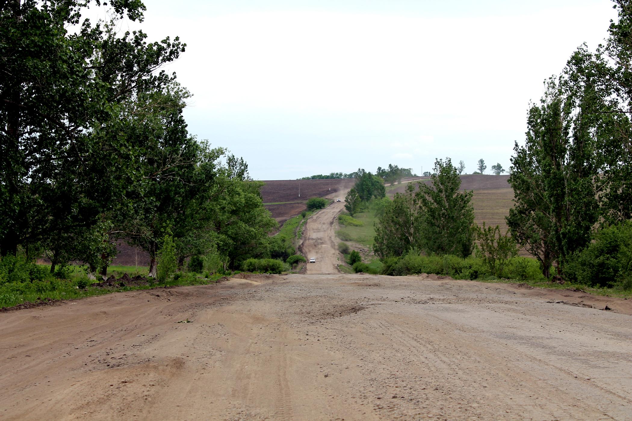 Как война убила дороги Луганщины