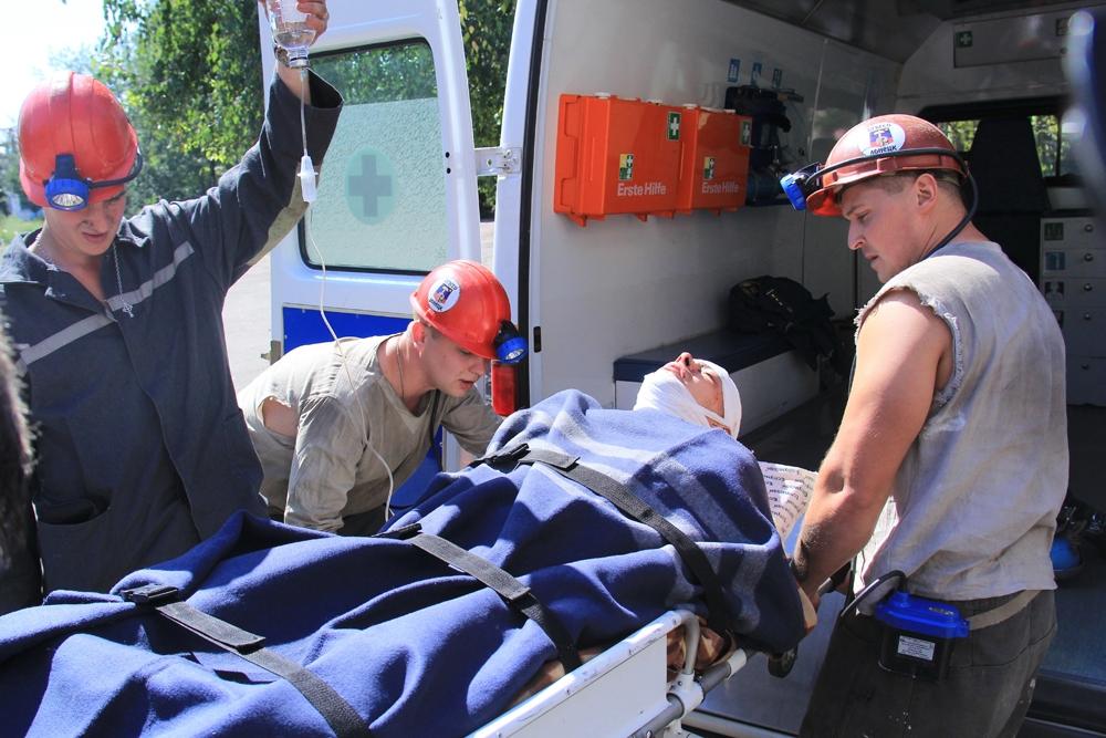 В оккупированном Донецке шахтер получил травму