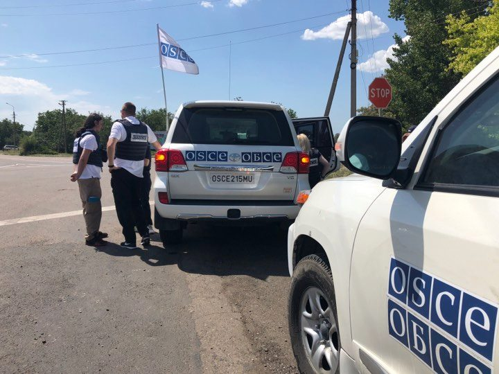 Боевики за июль 40 раз помешали наблюдателям ОБСЕ передвигаться по югу Донетчины
