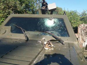 Происшествия на КПВВ Донетчины: обстрел пограничников и подрыв военного