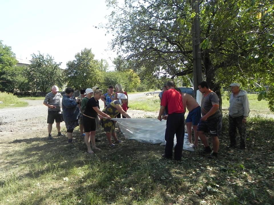 Стали известны подробности утреннего обстрела поселка на Луганщине