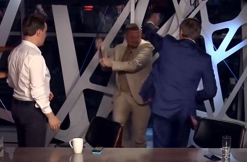 Шахов и Мосийчук подрались в прямом эфире