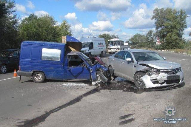 ДТП между Рубежным и Северодонецком: пострадали 4 человека