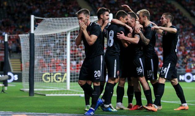 «Заря» с крупным счетом обыграла киевский «Арсенал»