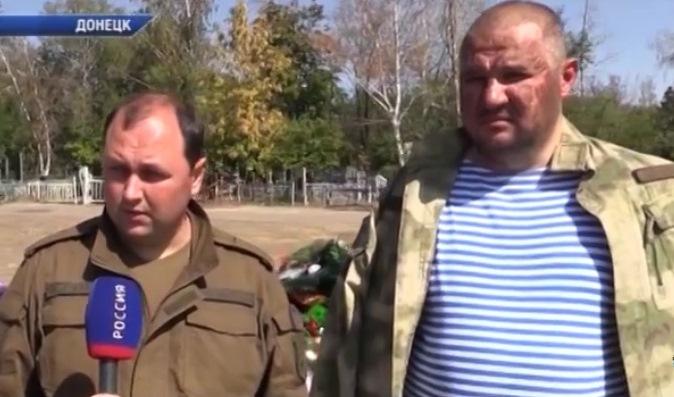 Тимофеев и Трапезников на могиле Захарченко заявили, что в «ДНР» нет раскола