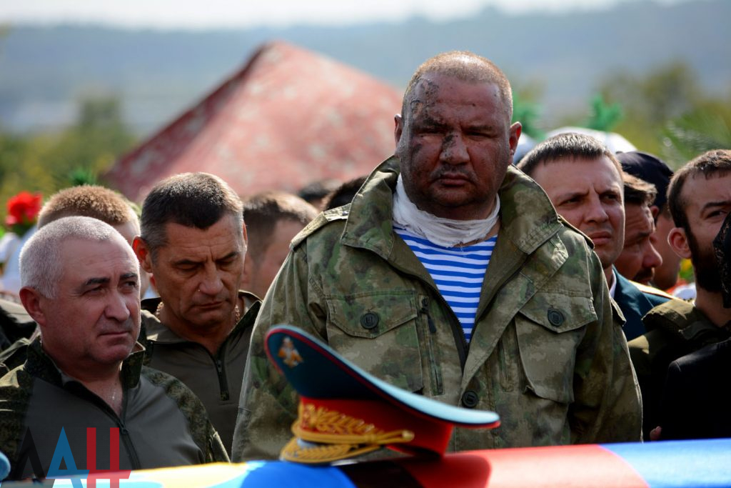 Захарченко похоронили на кладбище в Донецке
