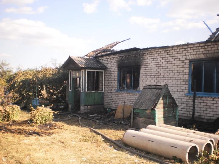 В оккупированном Свердловске на пожаре погиб мужчина