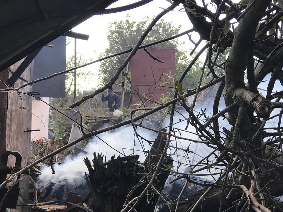 На юге Донетчины обстрелян поселок, есть разрушения