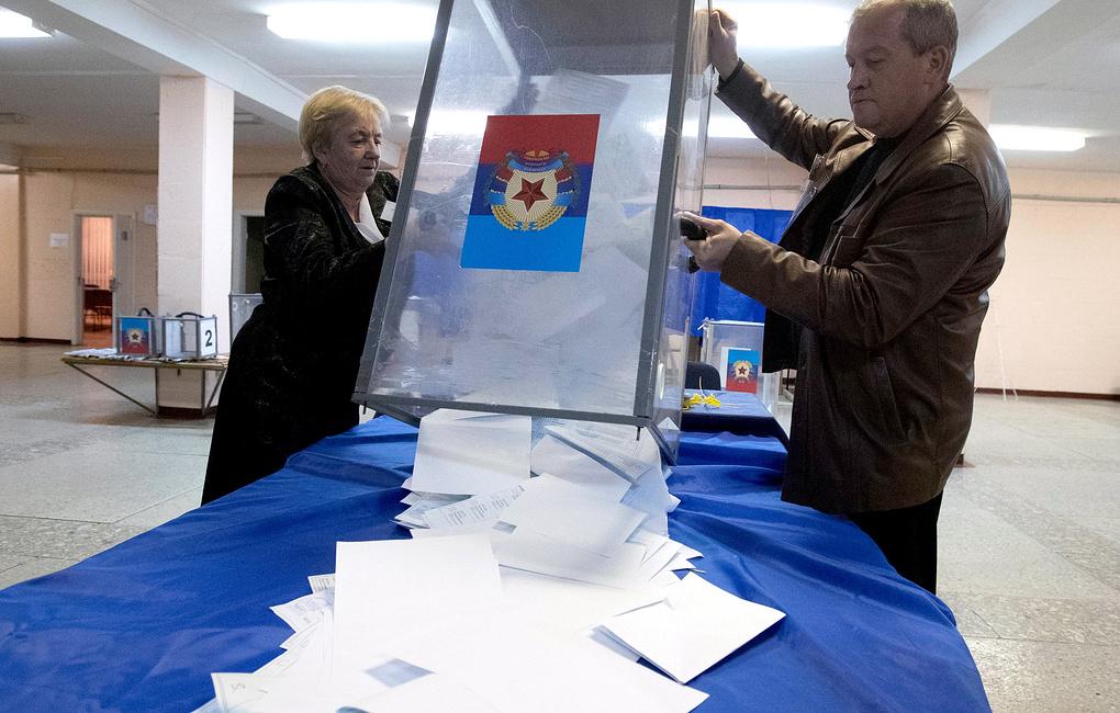 Промежуточные итоги: Пасечник и Пушилин ожидаемо лидируют на «выборах» глав «республик»